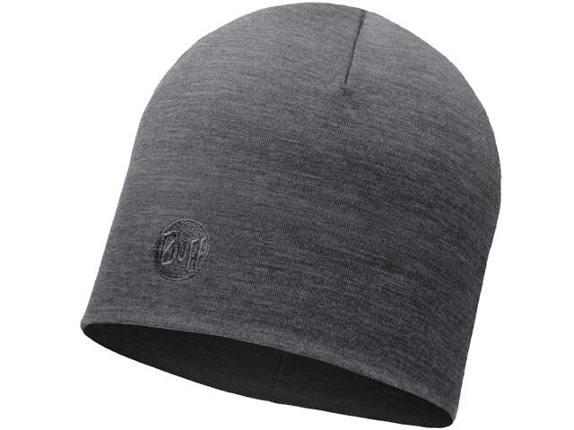 Buff Heavyweight Merino Wool Pet Regular, solid grey
